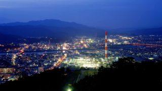 延岡市愛宕山の夜景